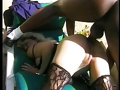 WHITE BLONDE MATURE WITH BBC